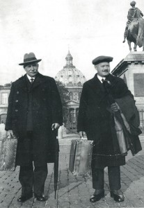 Johan O. Smith und Elias Aslaksen